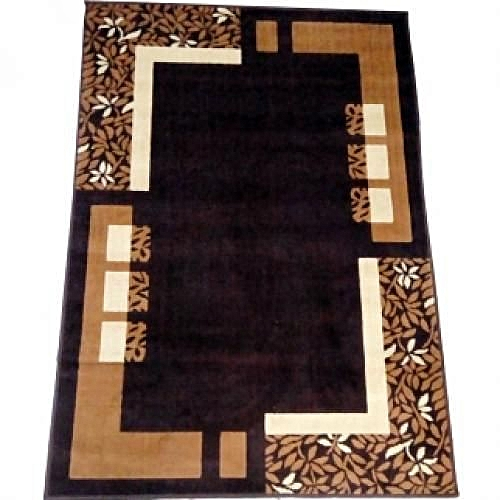 Elegant 4ft X 6ft Center Rug With A Spontaneous Design