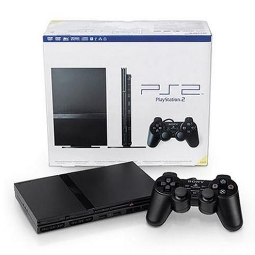 sony playstation 2 controller. playstation 2- ps2 slim console - latest edition. sony playstation 2 controller