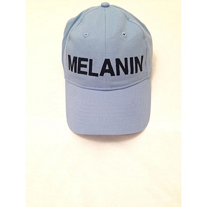 Fashion Melanin Baseball Cap - Sky Blue  b4e73642fae9