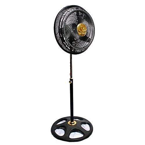 Bianco Power 09 Black 18″ Inches Pedestal Fan