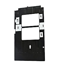 OR PVC ID Card Tray Plastic Card Printing For Epson Type A Printer Plate Black for sale  Nigeria