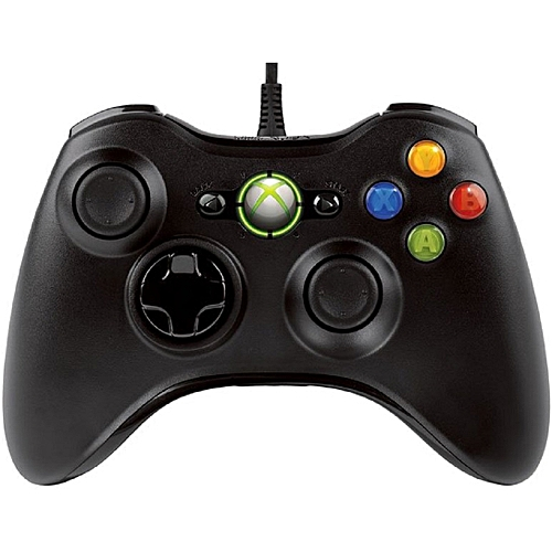 Xbox 360 Controller - Microsoft Xbox 360 Pad For PC & Official Xbox 360 Console - Black