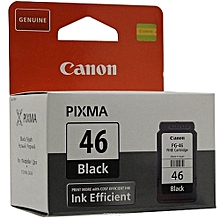 PG-46 Ink Efficient Black Ink Cartridge For E414 / E474 Printer