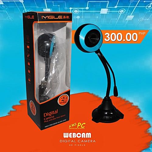 MGLE Webcam C600 - MGLE USB 24MP HD Cam Is Best Alternative For WAEC Registration