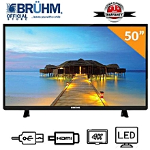 c47ea0f74a0b 50-Inch Smart 4K UHD LED TV With E-share + Wall Bracket