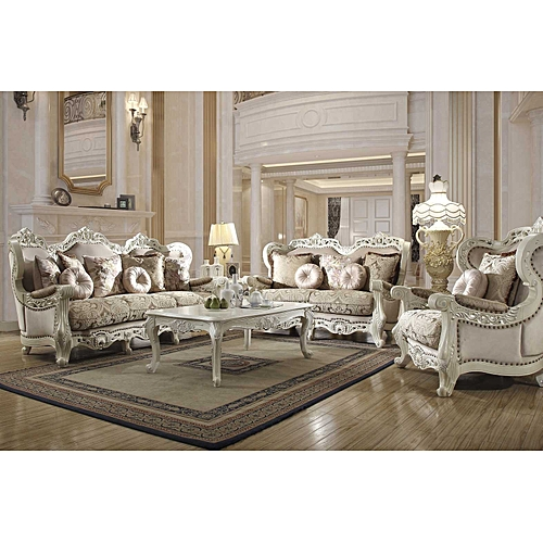 Royal Givan 6 Seater Fabric Set With To Match Coffee Table