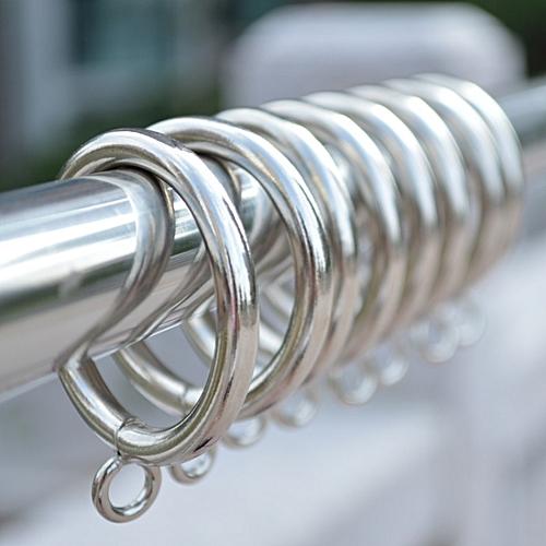 50PCS (Diameter:45mm) Rome Bar Hoop Hook Hanging Ring /Metal Drapery Curtain Clip / Curtain Accessories