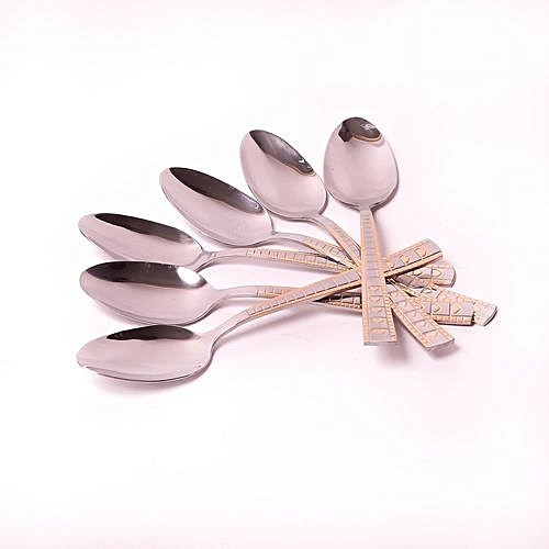 High Quality Steel Spoon - 12pcs