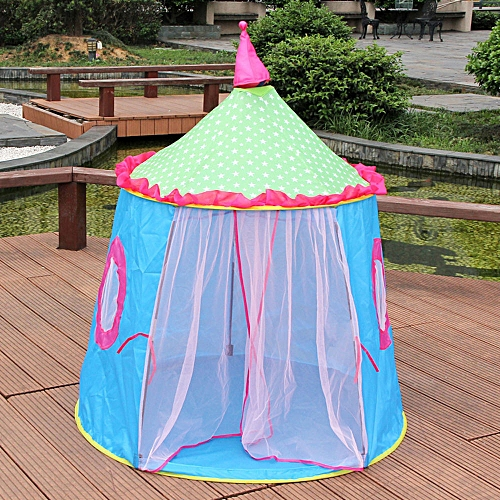 Correponde Castle Children Tent House Of Games For Kids Funny Portable Tent Baby Playing BU