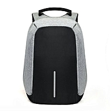 e765aacd8cc Anti-Theft Backpack USB Port Laptop Charging Travel Bag