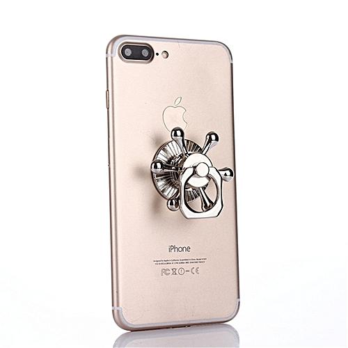 Detachable Fidget Finger Spinner Gyro Ring Bracket Phone Holder Secure Grip Stress Reducer
