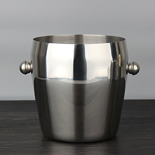 Stainless Steel Ice Bucket Wine Cooler Whisky Wort Chiller Barware Champagne Buckets Great Gift