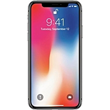 IPhone X 5.8-Inches Super AMOLED (3GB RAM, 64GB ROM) IOS 11.1.1, (12MP + 12MP) + 7MP 4G LTE Smartphone - Grey
