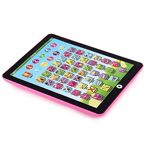 Children's Educational English Learning Pad - Pink