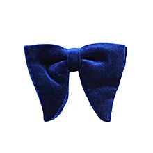cabc55cd2ea85 David Wej Stripped Tie With Pocket Square - Blue & Black. ₦ 7,000 · Velvet  Bowtie - Blue