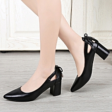 Fashion Women Sandals Pointed Toe Ankle High Heels Party Jobs Single Shoes(CN  Size) 936078981e1e