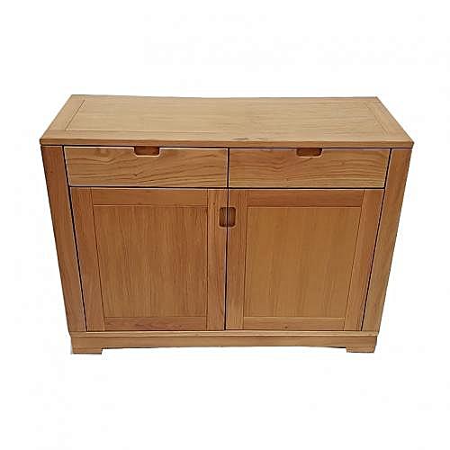 Domus Sideboard/Buffet 2Doors & 2Drawers - 100cm Oak Wood