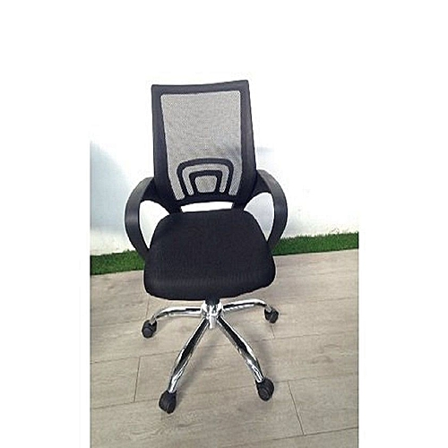 Director's Mesh Office Chair - Black
