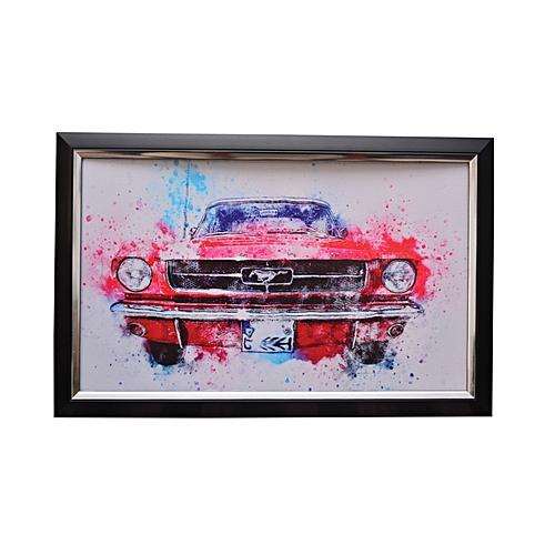Vintage Car Art Frame