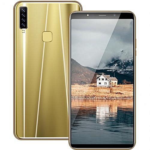 A9 6 1 Inch 4G Full Screen Dual Sim Smartphone Octa Core Android OS 9 1  6000mAh Battery 3GB RAM+32GB ROM Gold