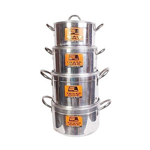 Tower Cooking Pot (4pc)