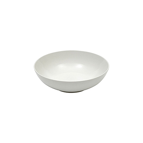4 Piece White Coupe Plate Bowl - Small