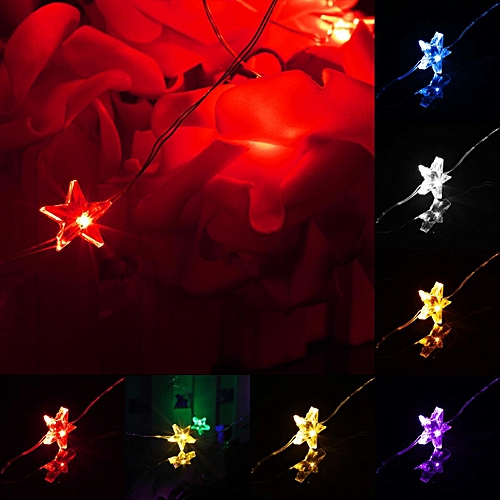 String Fairy Light LED Battery Operated Xmas Lights Party Wedding