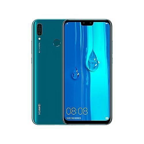 "Y9 2019 4G 6.5"" (4GB 64GB) Android 8.1 Oreo, (16MP + 2MP) + (13MP + 2MP) 4000 MAh – Sapphire Blue"