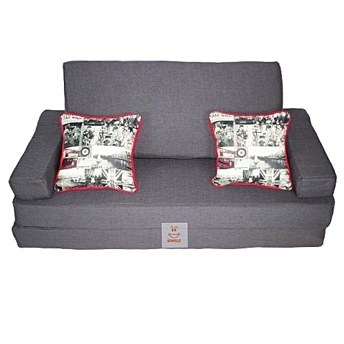 Spikkle 3 Seater Sofa Bed Chair - Grey