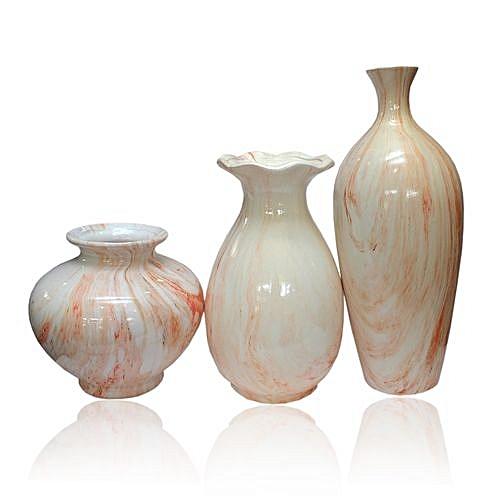 Marble Patterned Vase