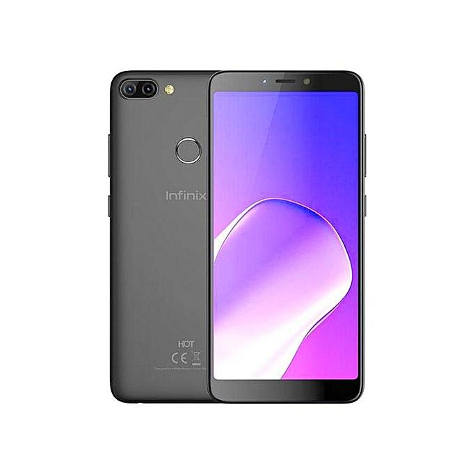 Hot 6 (X606D) 6-Inch HD+ (1GB RAM, 16GB ROM) Android 8 Oreo, 13MP + 8MP  Dual Sim Smartphone - Sandstone Black