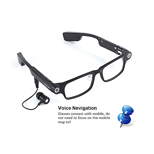 Wireless Bluetooth Camera Glasses HD 720P Sports DV Smart Sunglasses Mini Camcorders Glasses With Headset To Calls And Music-Build In 8 GB