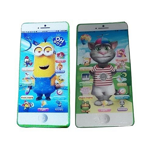 Kids Smartphone (3D Multi Characters) - Colour And Character May Vary