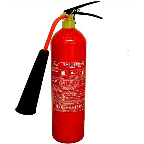 3Kg CO2 Fire Extinguisher- Red And Black