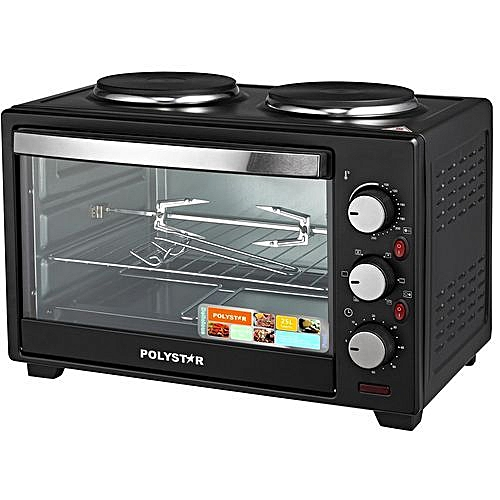 25Ltrs Toaster Oven With 2 Hotplates PV-V25B