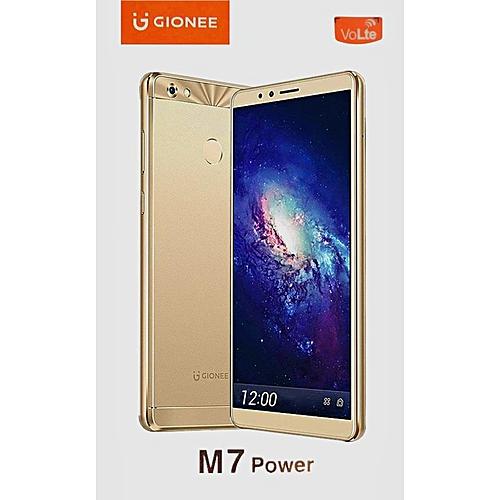 M7 Power (4GB, 64GB ROM) 5000mAh, 13MP+8MP, Android 7 1 1, Dual Sim 4G LTE  - Gold