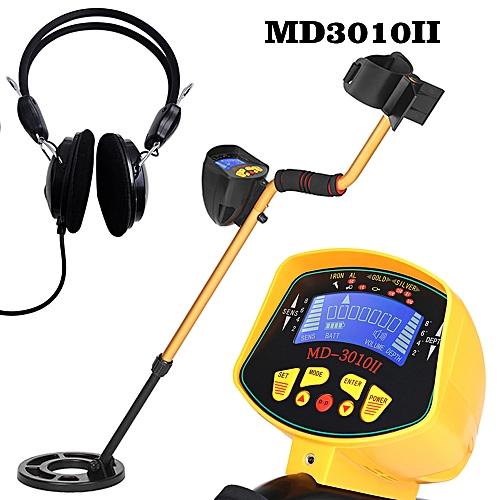 High Sensitivity High Performance Metal Detector MD3010II Underground Metal Detector Gold Digger Treasure Hunter Metal Finder Treasures Seeking Tool + Earphone