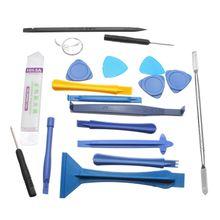 19 In 1 Opening Pry Tool Set Spudger Tweezers Metal Plastic Opener Screwdrivers