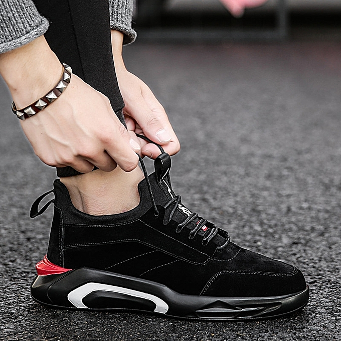 ca0d5b38f6 Men Running Shoes Sport Shoes Fashion Sneakers Men s Breathable Casual  Athletic Trainers