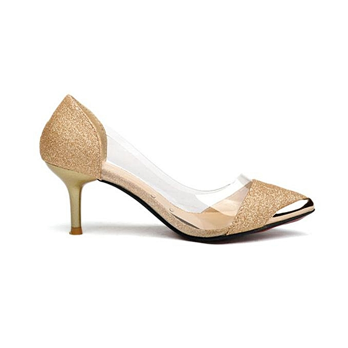 Fashion Women Casual Pointed Toe Pumps High Heels Wedding