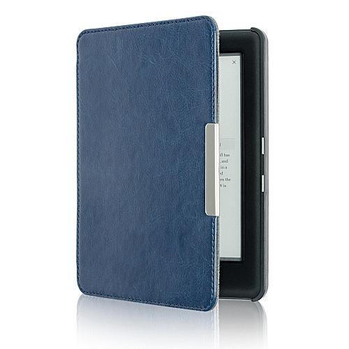 Magnetic Auto Sleep Slim Cover Case Hard Shell For KOBO GLO HD 6.0inch BU