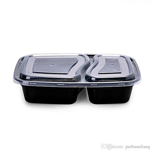 Plastic Food Container - 50 Pieces