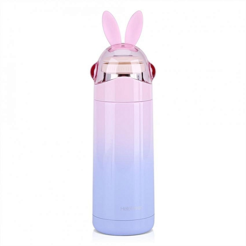 350ML Cute Kids Stainless Steel Vacuum Insulated Mug Hot Water Bottle Travel Cup
