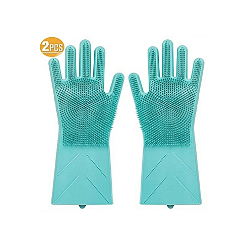 Magic Silicon Hand Glove Scrubber