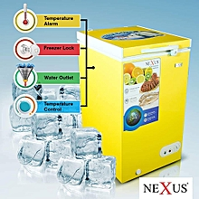 Nexus Chest Freezer NX-150C- 100L  Yellow