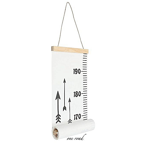 Kids Growth Chart Children Room Decoration Wall Hanging Height Measure Ruler Box