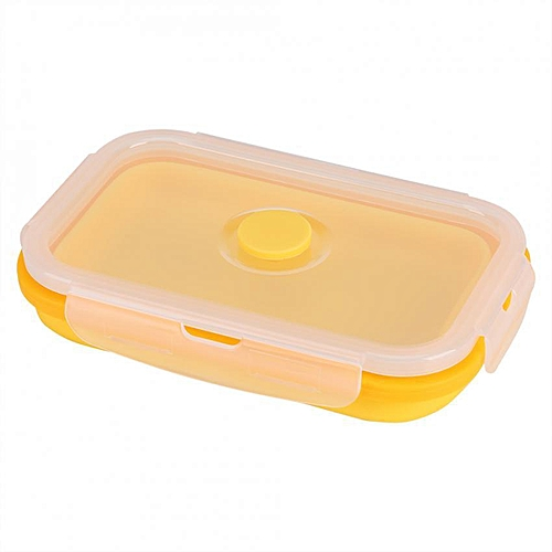 SHANYU Silicone Collapsible Portable Lunch Box Bowl Folding Food Storage Container(500ml )