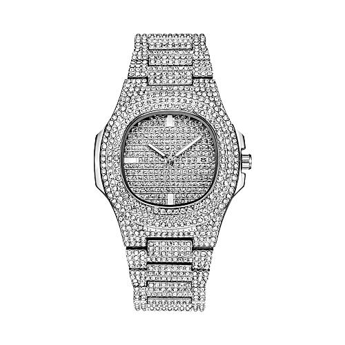 Fashion Luxury Men's Watch Calendar Display Quartz Wristwatches