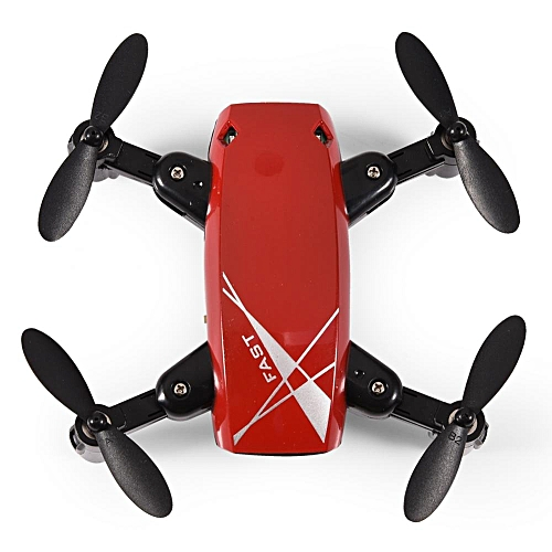 2.4GHz Foldable Aircraft Quadcopter Pocket Helicopter RC Mini Drone Remote Control Toy