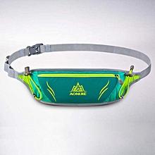 Reflective Running Bag Travel Handy Hiking Sport Waist Belt Pack Running Breathable Waist Bag - Green for sale  Nigeria